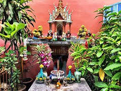 #shrine at the top of the soi #bangkok