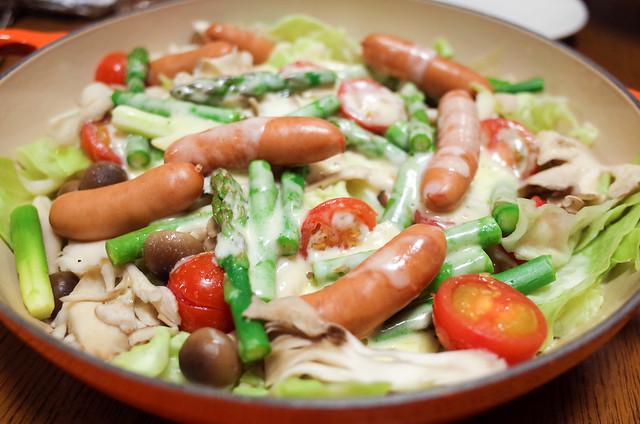 蒸し野菜 (2 - 2)