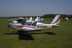 G-CIDW Evektor EV-97 [LAA 315-15227] Popham 060518