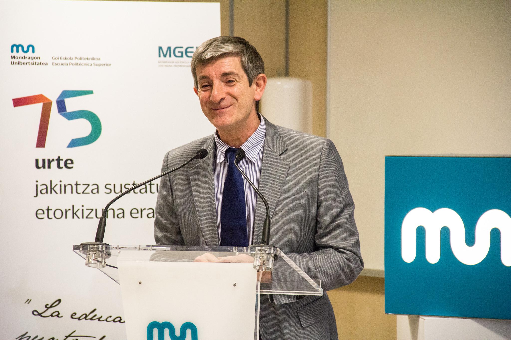 Reinauguración del Aula de Componentes de Mondragon Unibertsitatea y la División de Componentes de MONDRAGON