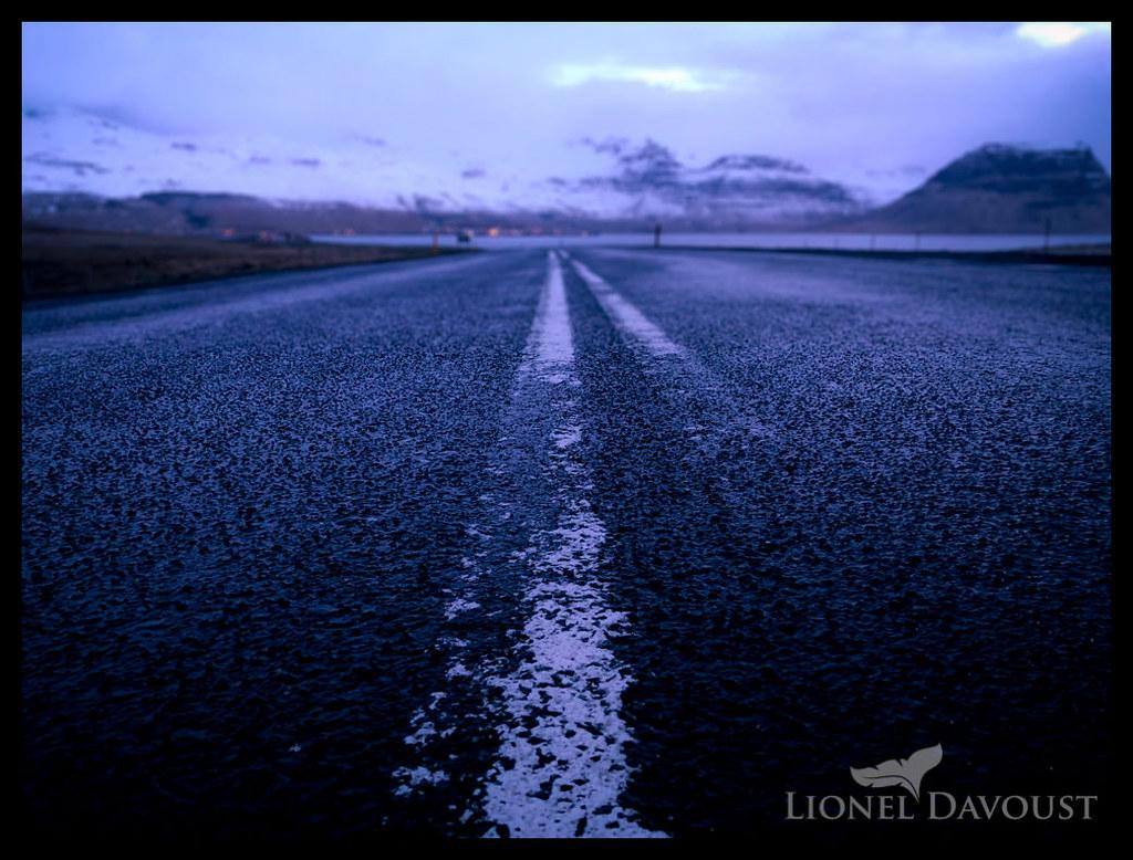 The road to Grundarfjörður
