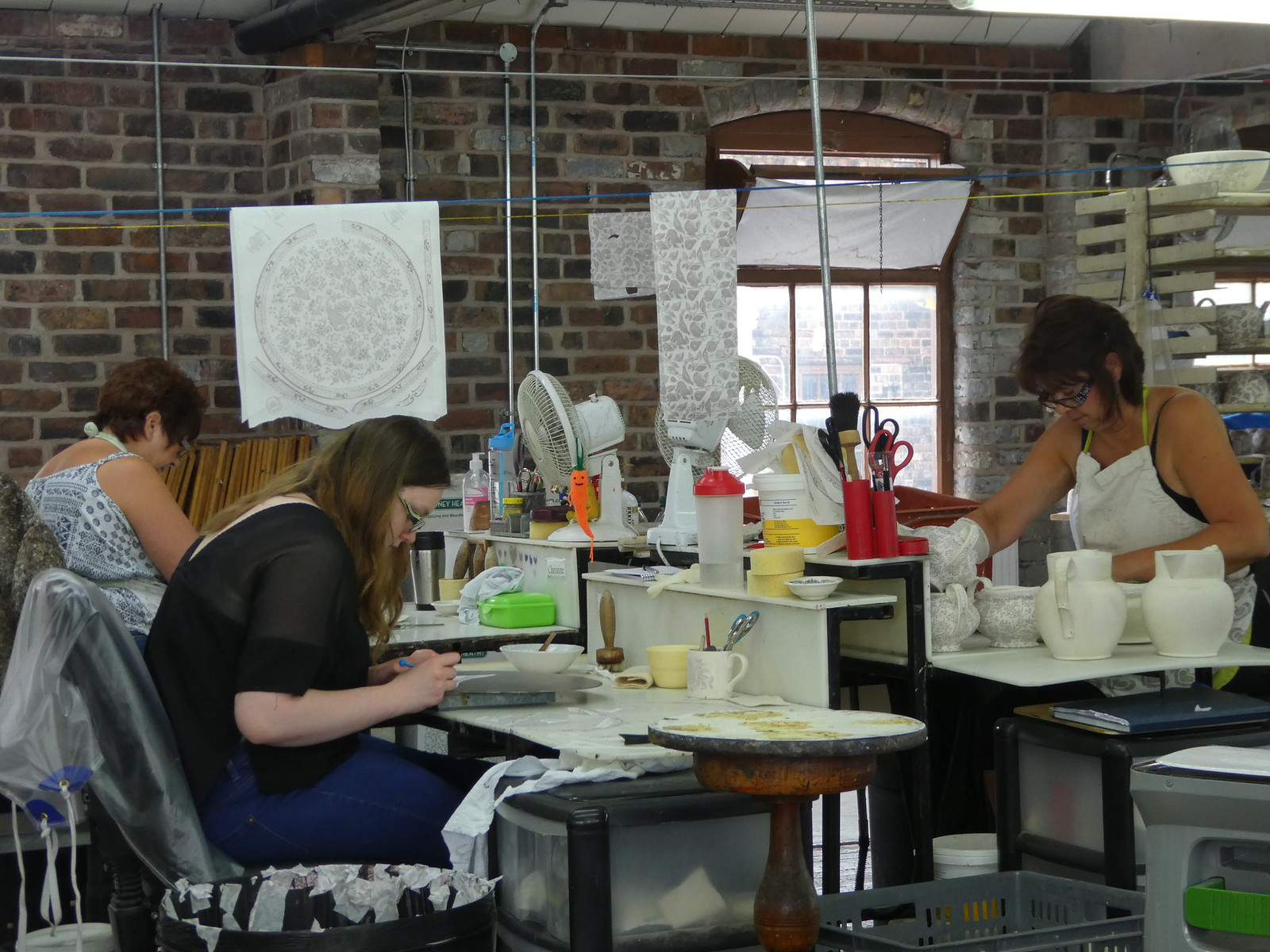 Middleport Pottery tour, Burslem