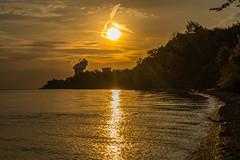 Sunrise over Lake Erie Bluffs