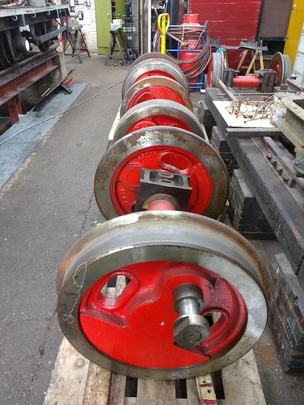 699.01's Wheelsets