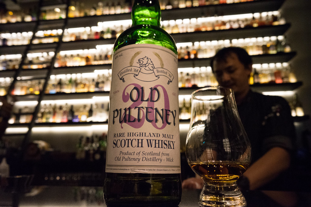 Old pulteney 1968-1988