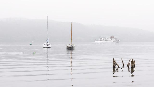Misty Morning, Windermere, Lake District