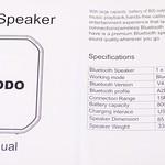 Riodo 防水 Bluetooth スピーカー 開封レビュー (6)