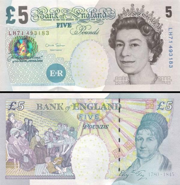 5 Libier Veľká Británia 2004-11, P391d
