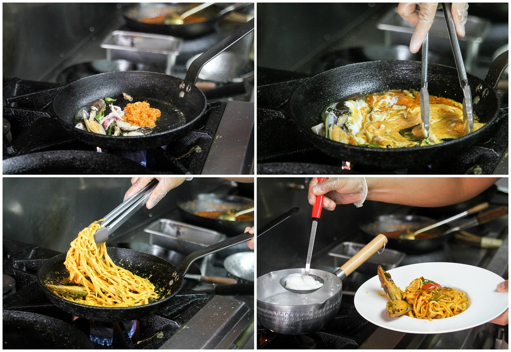 Walaku Pasta Preparation Collage