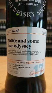 SMWS 54.63 - 2000: and some face odyssey
