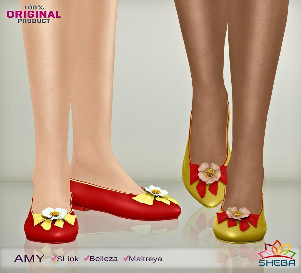 [Sheba] Amy Flat shoes - TeleportHub.com Live!