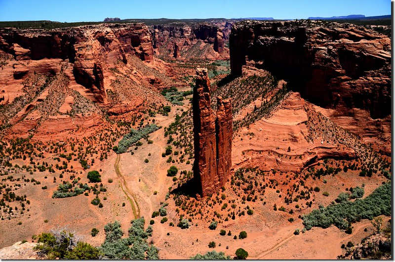 Spider Rock from Spider Rock Overlook 1