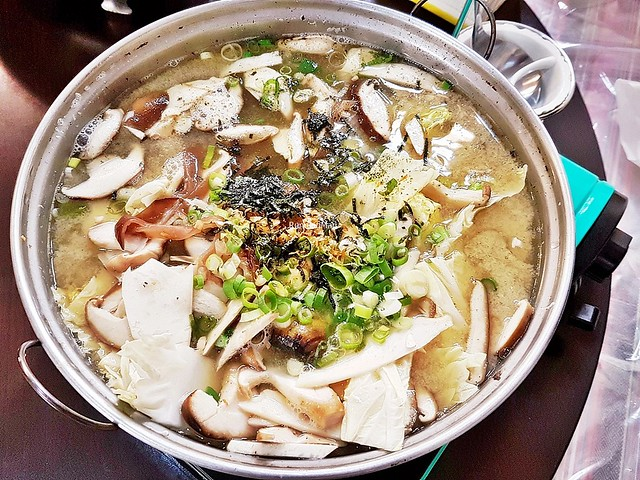 Miso Soup With Clams And Mixed Mushrooms