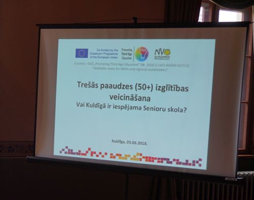 Ar diskusiju par Trešās paaudzes izglītību Kuldīgā, noslēdzas Erasmus+ projekts