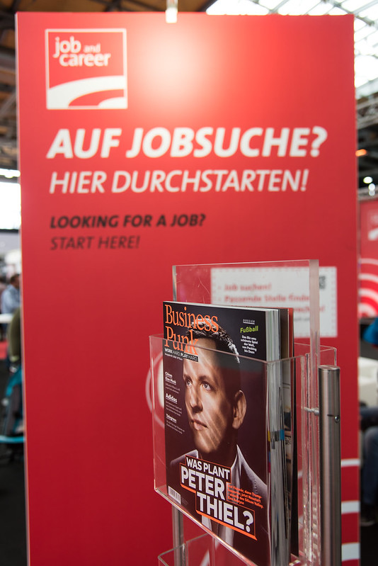job and career at CEBIT 2018