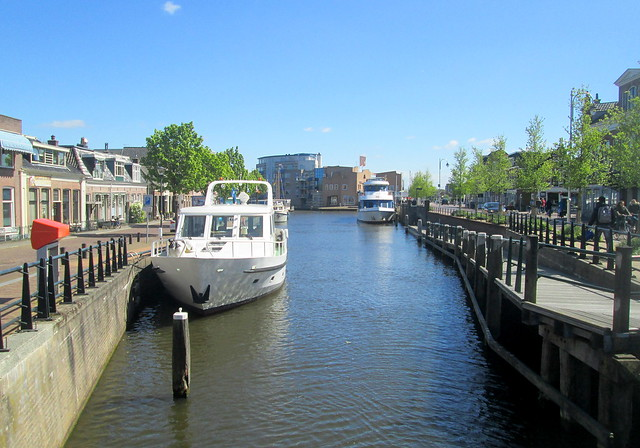 Canal in Sneek,  Friesland