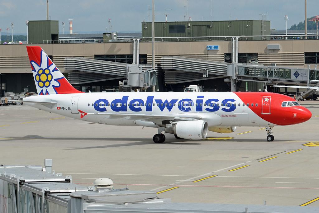 Edelweiss Air Airbus A320-214 HB-JJL  (EX D-ABNV)