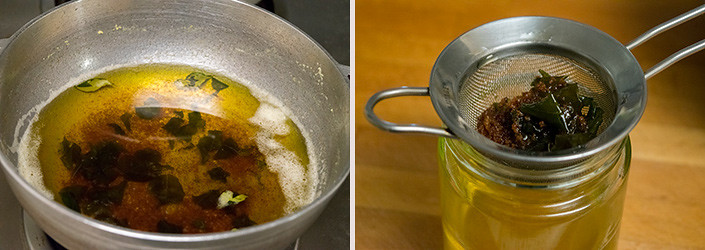 Homemade Ghee cooking steps by GoSpicy.net