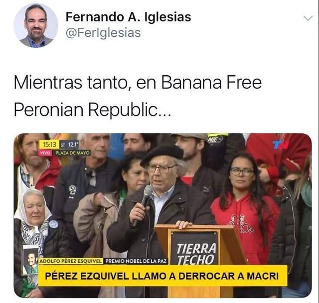 El tuit de Fernando Iglesias