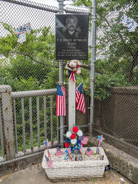Port Authority Police Officer Bruce Albert Reynolds 9/11 Memorial, George Washington Bridge Command, Fort Lee, New Jersey