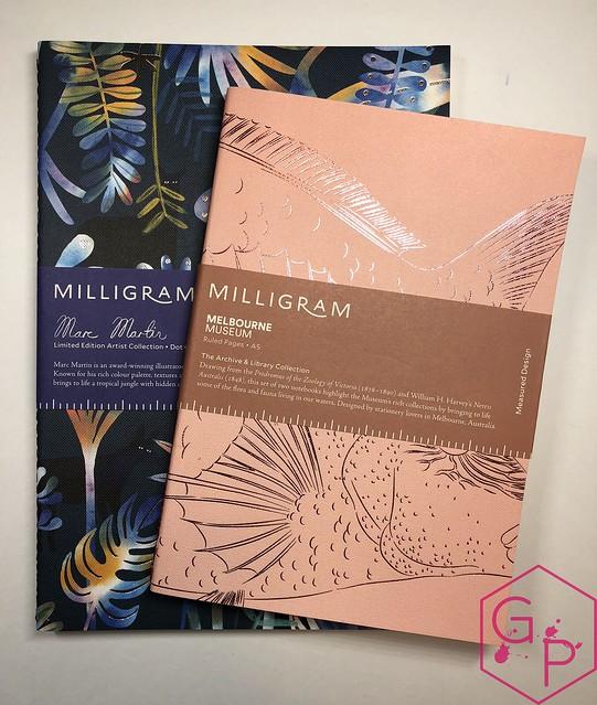 @MilligramStore Notebooks from Marc Martin Kaleidoscope Jungle & Melbourne Museum 1