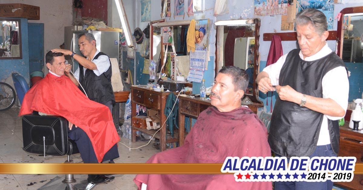 La barbería sigue vigente en Chone