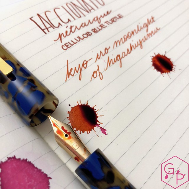 Faggionato Pétrarque King Size Celluloid Fountain Pen Review @couronneducomte 15