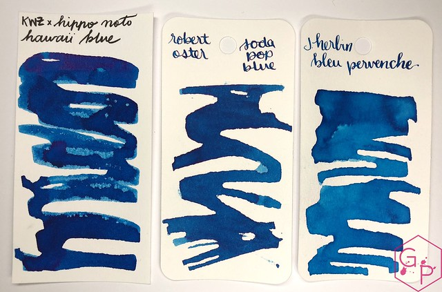 KWZ Ink Hawaii Blue Ink Review 2
