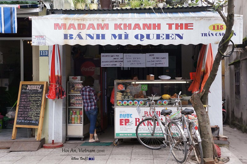 Things to Eat in Hoi An - Banh Mi Queen 01