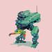 green mech by MiracIe_Boy