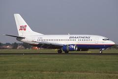 LN-BRX Schiphol 26-8-2000