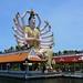 Statue of Guanyin, Wat Plai Laem, Ko Samui, Thailand by R-Gasman