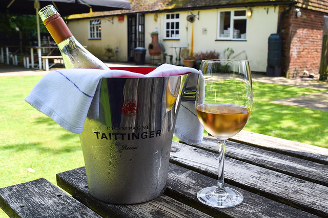 English Wine Week at The Compasses Inn, Crundale