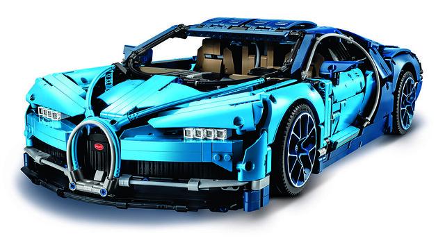 42083 Bugatti Chiron - Front