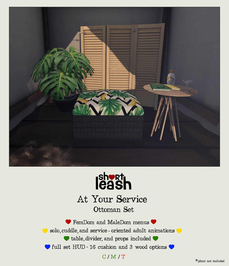 .:Short Leash:. At Your Service Set - TeleportHub.com Live!