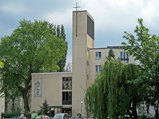 Berlin-Kreuzberg, Melanchthonkirche (1954-1955)