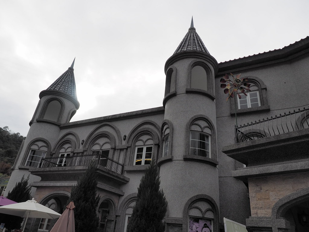 Good Bar is situated in the castle in Taichung