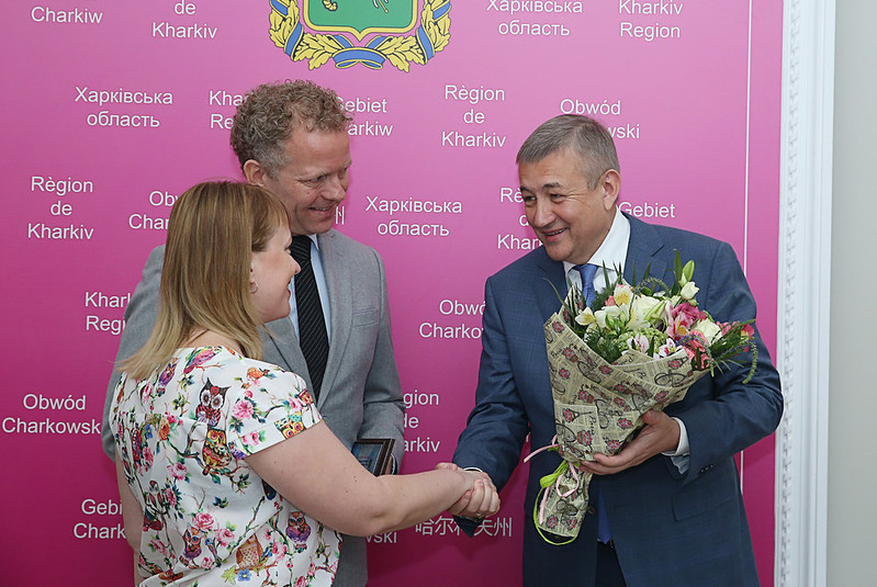 Kharkiv competition award ceremony June 2018