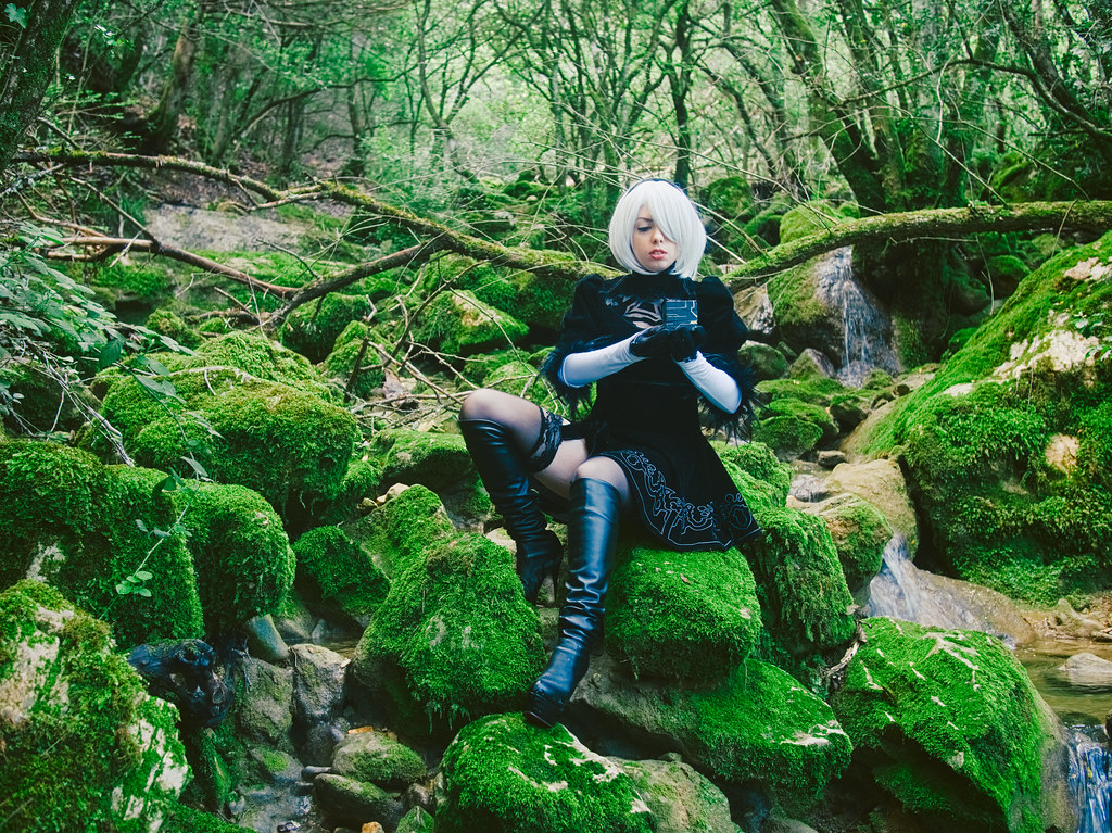 related image - Shooting Nier Automata - 2B - Kiro - Nans les Pins -2018-05-20- P1255557