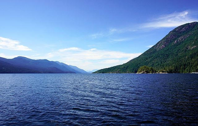 An amazing day on Sechelt Inlet, BC, with the neighbours.