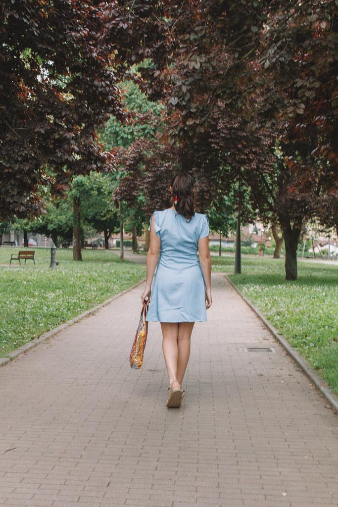 vest azul