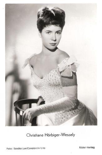 Christiane Hörbiger in Kronprinz Rudolfs letzte Liebe (1956)