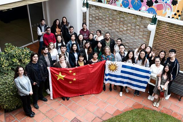 Despedida a estudiantes de programas de intercambio con China - 2018