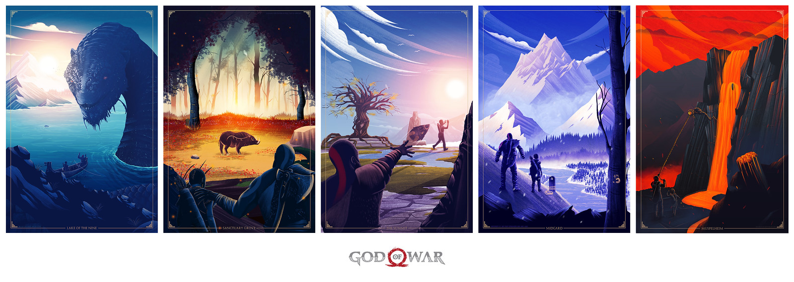God of War: Father's Day Posters