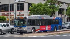 WMATA Metrobus 2006 New Flyer D40LFR #6217