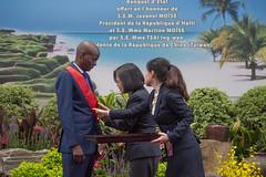 05.29 05.29 總統以國宴款待海地共和國總統摩依士伉儷暨互贈勳章