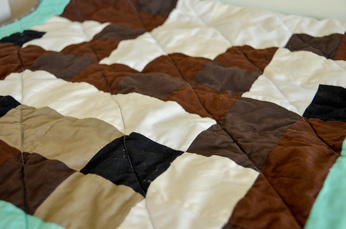 14. Wash & Dry the Quilt (cold delicates / low tumble)