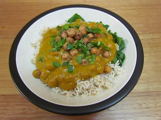 Masala Chickpea Curry