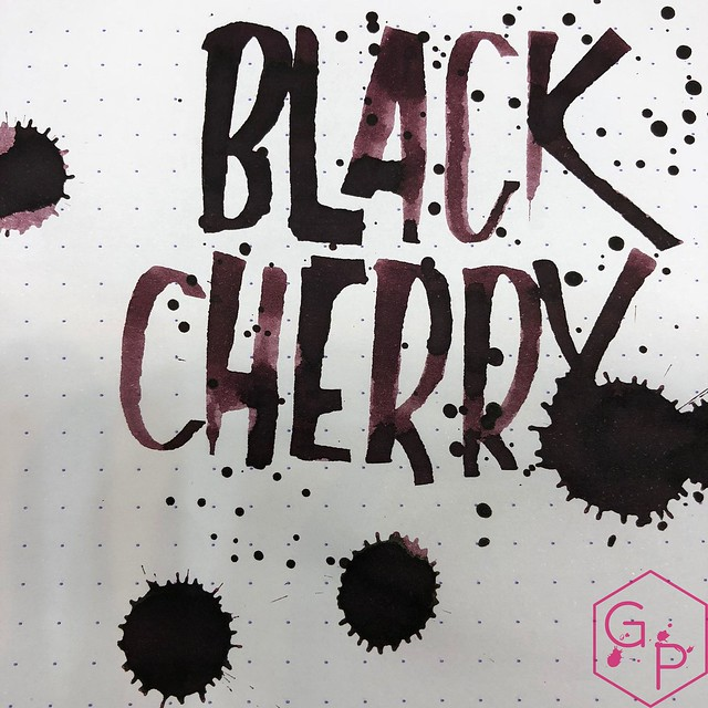 Franklin-Christoph Black Cherry Ink Review @1901FC 19