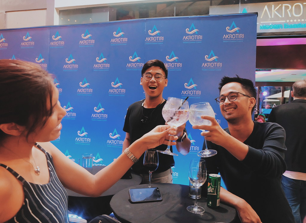 Cocktail with Chili Akrotiri Restaurant Commercenter Alabang